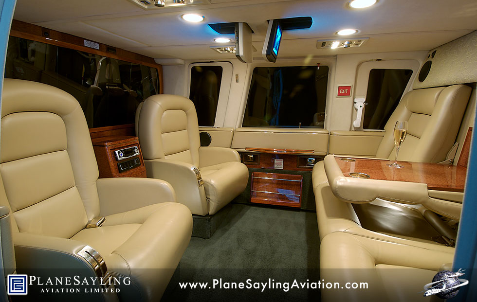 Planesayling aviation limited sikorsky s 76c deluxe executive helicopter - Interior images ...